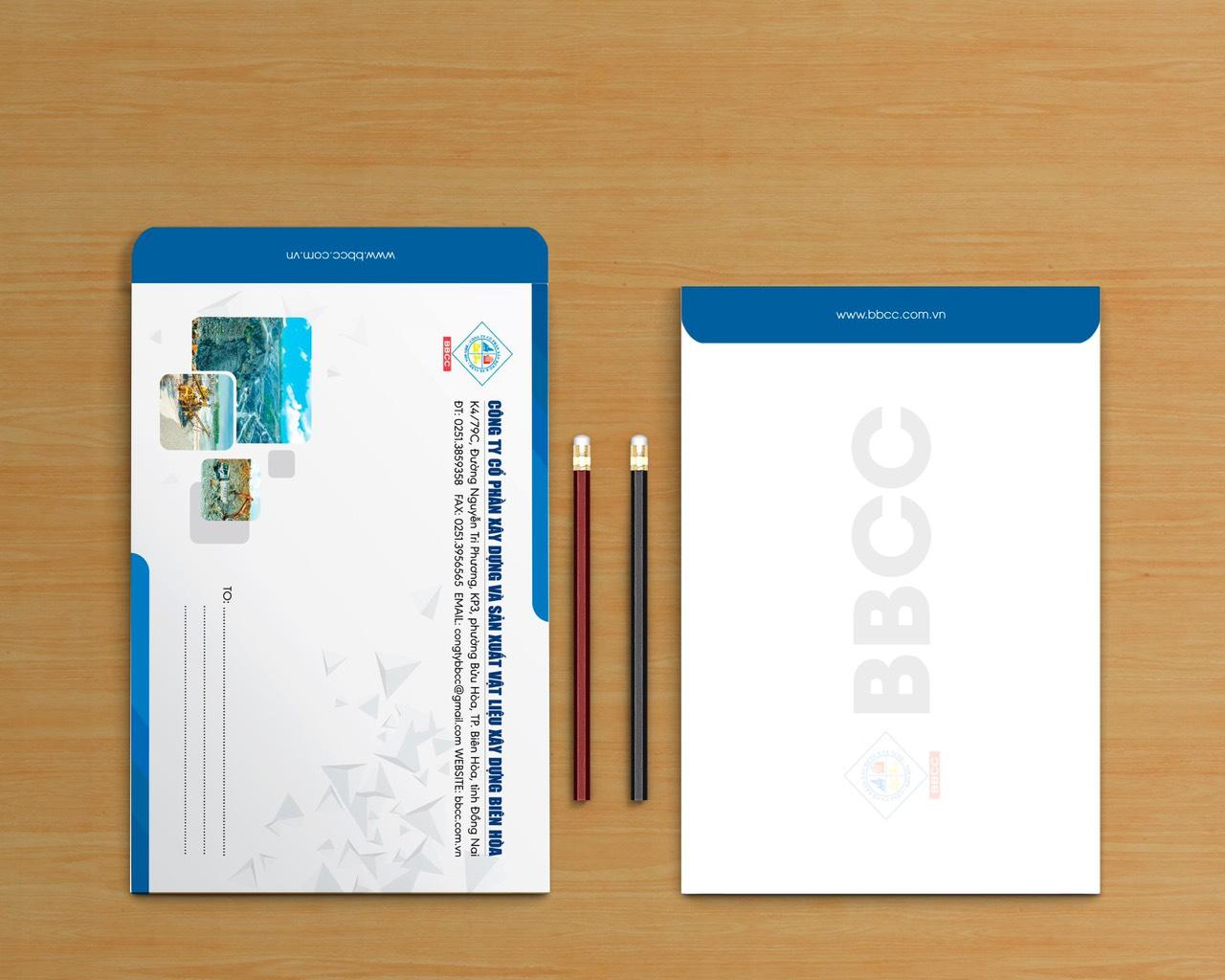 thiết kế bì thư rubic group