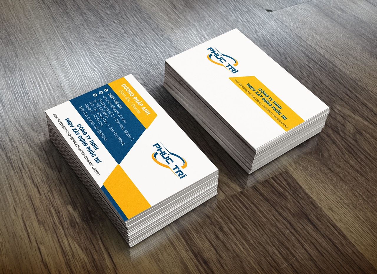 thiết kế card visit rubic group