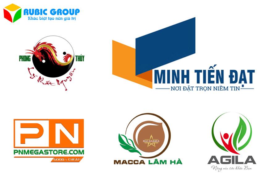 thiết kế logo rubic group 2