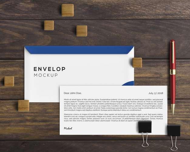 thiết kế bì thư chuyên nghiệp