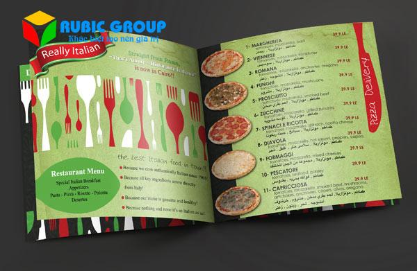 thiết kế catalogue thực phẩm 1