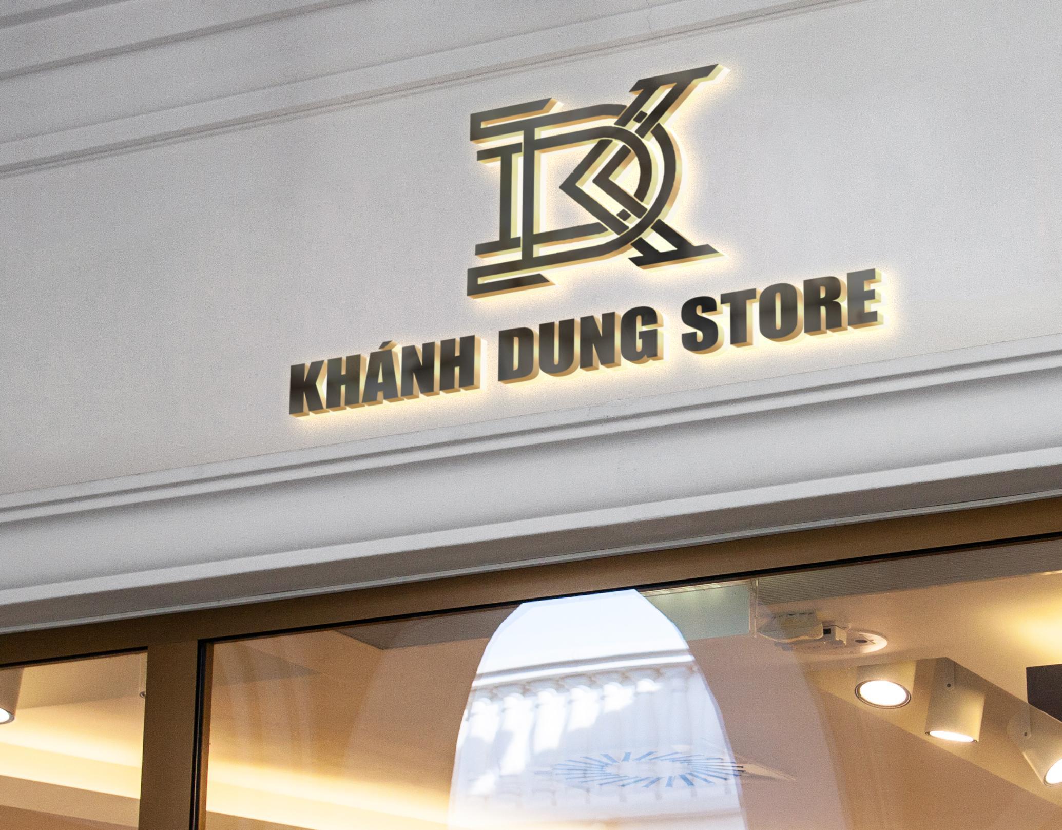 logo khánh dung store