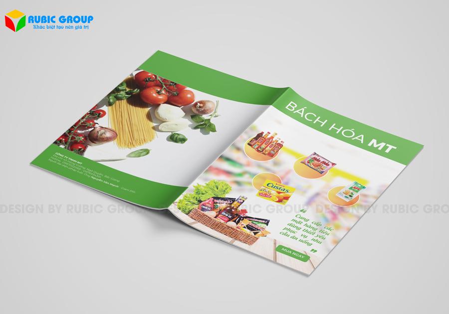 thiết kế brochure 1